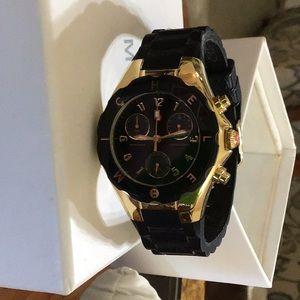 Michele black watch